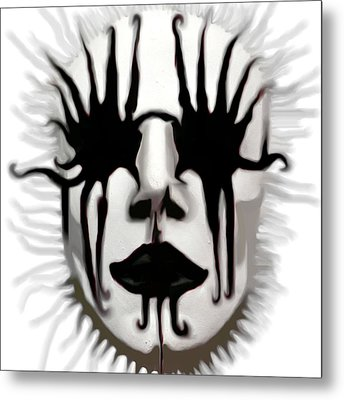 The Boogeyman Metal Print by Susan  Solak