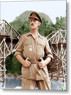 The Bridge On The River Kwai, Alec Metal Print by Everett
