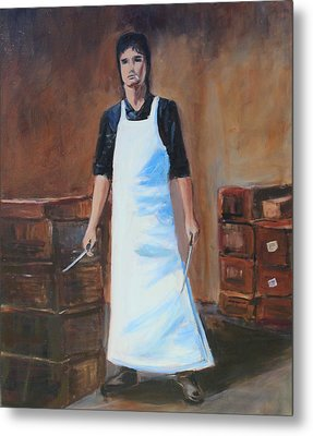 The Butcher Metal Print