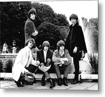 The Byrds 1965 Metal Print by Chris Walter