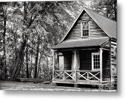 The Cabin Metal Print by John Rizzuto