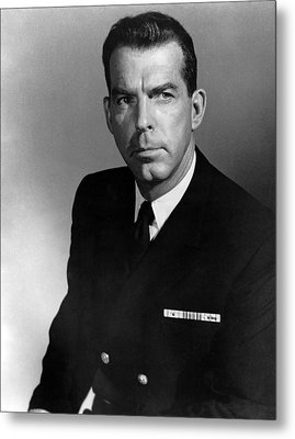The Caine Mutiny, Fred Macmurray, 1954 Metal Print by Everett