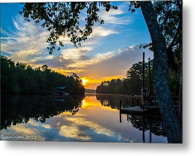 The Calm Place Metal Print by Shannon Harrington