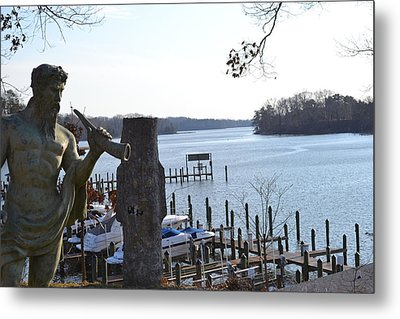 Metal Print featuring the photograph The Caretaker by Kelly Reber
