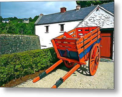 Metal Print featuring the photograph The Cart by Charlie and Norma Brock
