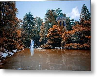 The Castle At Longwood Gardens Metal Print by Bill Cannon