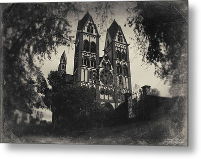 The Catholic Cathedral Of Limburg Metal Print by Natalia Kempin