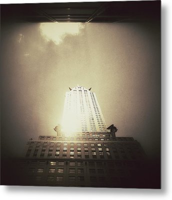 The Chrysler Building - New York City Metal Print by Vivienne Gucwa