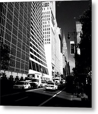 The Chrysler Building In New York City Metal Print