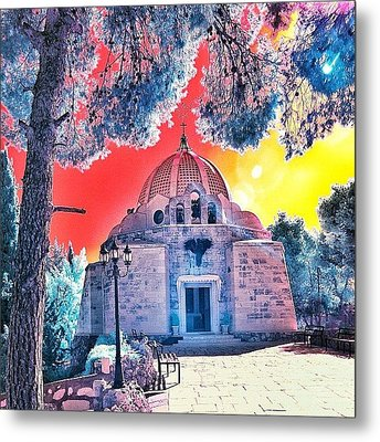 The Church Of The Shepherd's Fields Metal Print