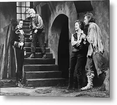 The Climactic Scene From Beethovens Metal Print by Everett