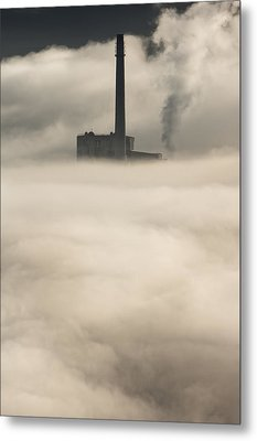 The Cloud Factory Metal Print by Andy Astbury