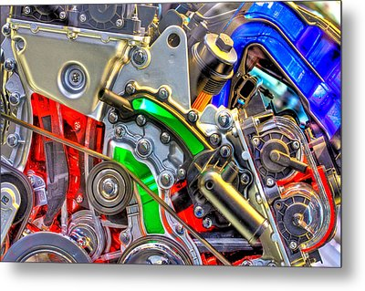 The Color Of Motion Metal Print by Joshua Ball