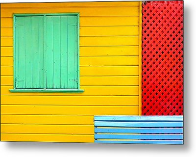The Colours Of Caminito Metal Print by by Felicitas Molina