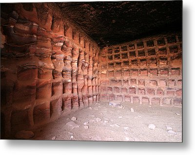 The Columbarium, Al Habis, Petra Metal Print by Joe & Clair Carnegie / Libyan Soup