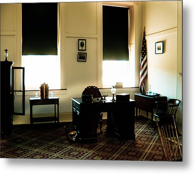 The Confederate Diary Metal Print by Trish Tritz