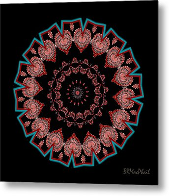 Metal Print featuring the photograph The Coral Jewel by Barbara MacPhail
