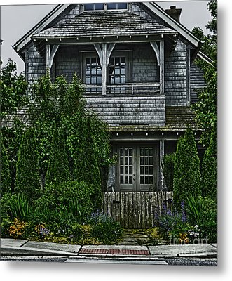 The Cottage Metal Print by Tamera James