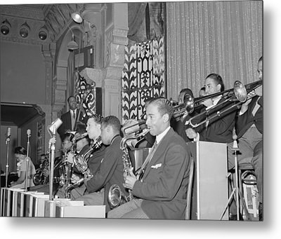 The Count Basie Orchestra At The Savoy Metal Print by Everett