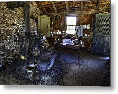 The Country Kitchen Metal Print