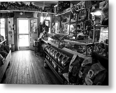 The Country Store Metal Print by Jeanne Sheridan