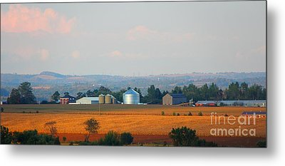 Metal Print featuring the photograph The Countryside by Davandra Cribbie