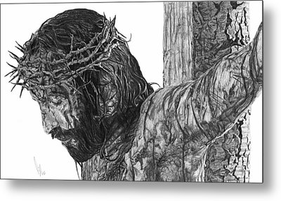 The Cross Metal Print by Bobby Shaw