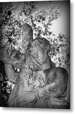 The Cross I Bear Metal Print by Paul Ward
