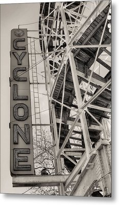 The Cyclone Metal Print by JC Findley