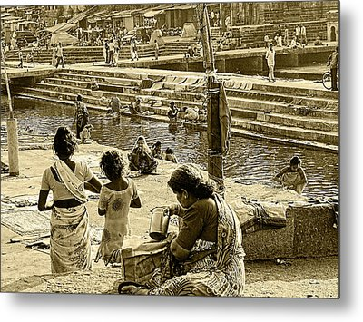 The Day In Life Metal Print