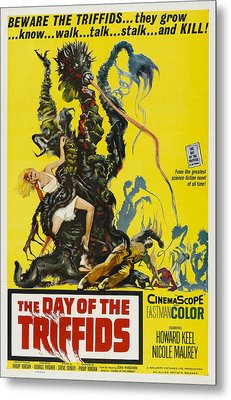 The Day Of The Triffids, 1963 Metal Print by Everett