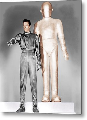 The Day The Earth Stood Still, Michael Metal Print by Everett