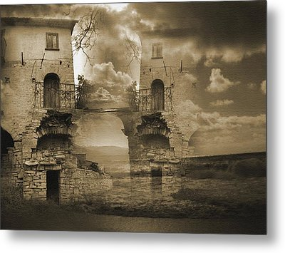 The Deep Metal Print