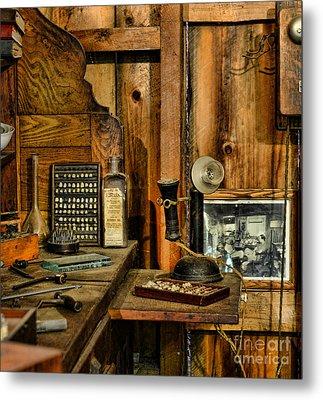 The Dentist Office Metal Print by Paul Ward