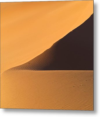 The Desert In Nambia, Africa Metal Print by Keith Levit