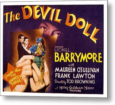 The Devil Doll, Frank Lawton, Maureen Metal Print by Everett