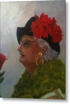 The Diva Metal Print by Betty Pimm