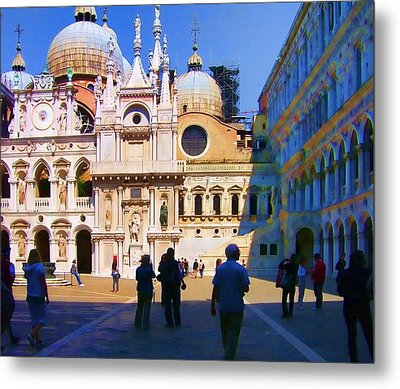 The Doge's Palace Venice Metal Print