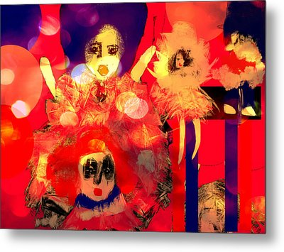 Metal Print featuring the digital art The Dolls Are Out by Rc Rcd