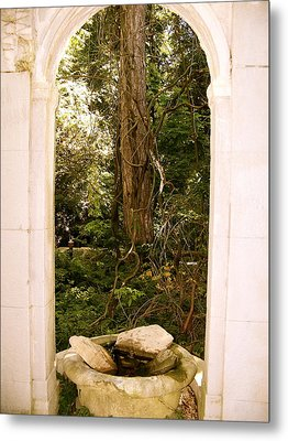 Metal Print featuring the photograph The Doorway by Robin Regan