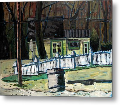 The Doug House Metal Print by Charlie Spear