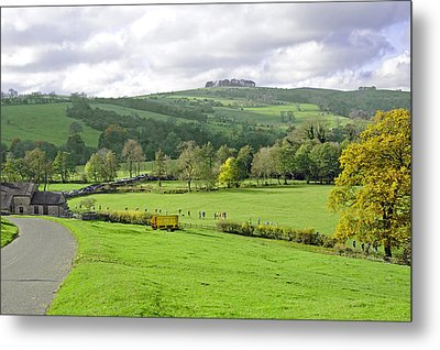 The Dovedale Dash By Thorpe Mill Farm Metal Print by Rod Johnson
