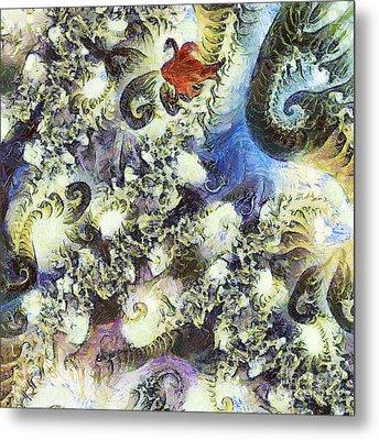 The Dream Swan Metal Print by Odon Czintos