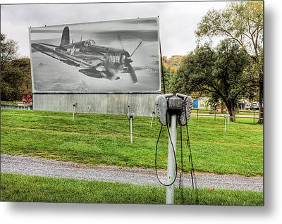 The Drive In Movie Metal Print by JC Findley