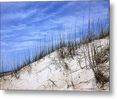 The Dune's Of Atlantic Beach Nc Metal Print