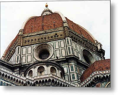 The Duomo In Florence Metal Print by C Sitton