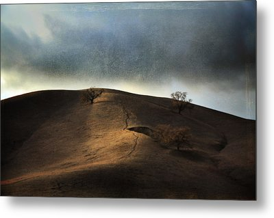 The Earth Moved When You Loved Me Metal Print by Laurie Search