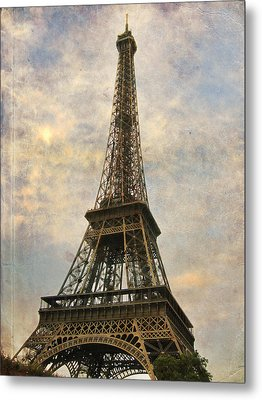 The Eiffel Tower Metal Print by Laurie Search