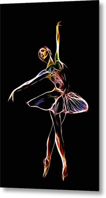 The  Electric Diva Metal Print by Steve K