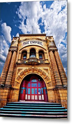 The Empire Theatre Metal Print by Meirion Matthias